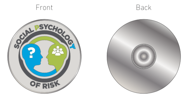 The Social Psychology of Risk Associate Pin